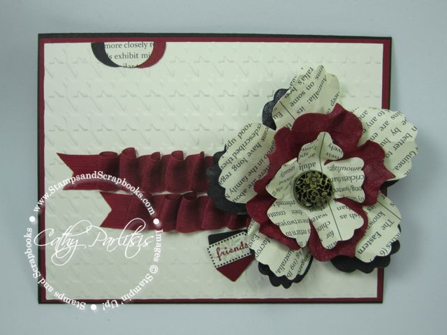 Scrunched Ribbon Card