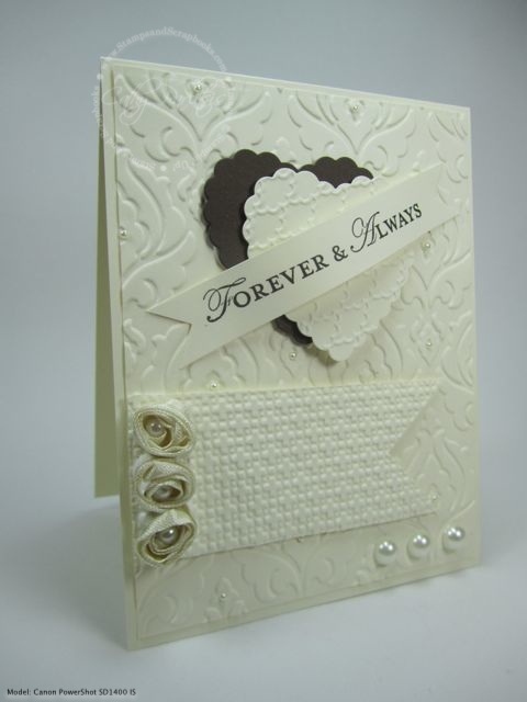 Forever & Always Wedding Card