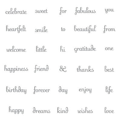 Fabulous Phrases Stamp Set