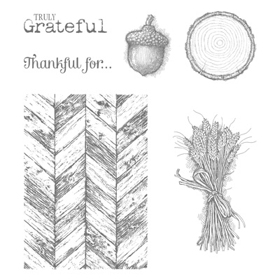 Truly Grateful Stamp Set