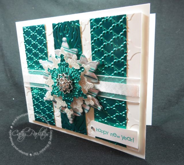 Card with Metal and Embossing