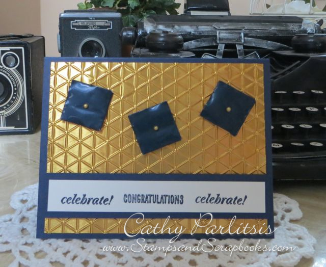 Graduation Card with Craft Metal
