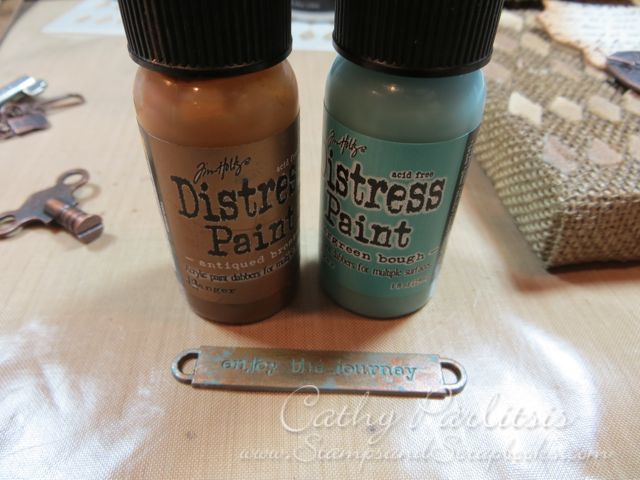 www.StampsAndScrapbooks.com_Word Band with Distress Paint