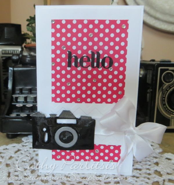 Hello Card with Camera