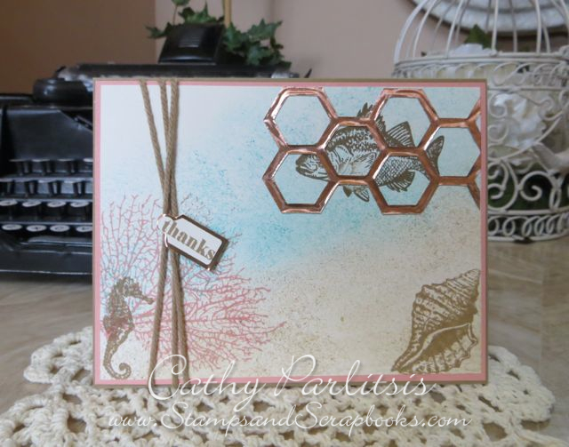 By The Tide with Craft Metal Card