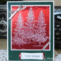 Christmas Card with Craft Metal
