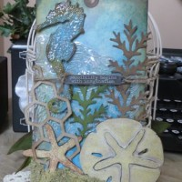 July Tag of 2014 with Seahorse and Starfish