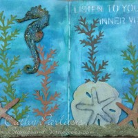 Underwater Art Journal Pages
