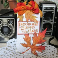 Autumn Leaves Tag