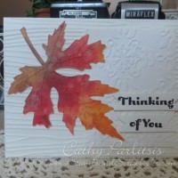 Clean and Simple All Occasion Card Fall Themed