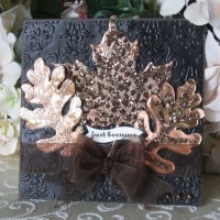 Leaves and Craft Metal All Occasions Card