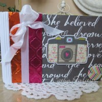 Add a Little Dazzle and Fancy Pants Blog Hop - Day #5 - Quick and Easy Mini Book