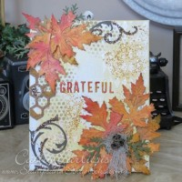 Fall Themed Grateful Canvas