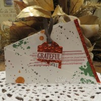 Grateful Twist and Fold Card
