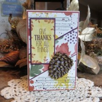 Give Thanks For All Things Card