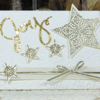 Joy Craft Metal Star Holiday Card