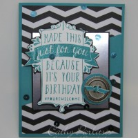 It's Your Birthday Card with Birthday Bash and Bermuda Bay