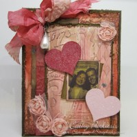 Romantic Vintage Valentine Card