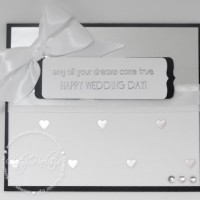 Simple and Sweet Wedding Card