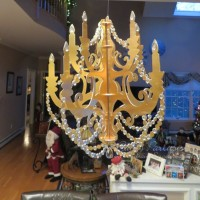 Easy Peasy DIY Chandelier