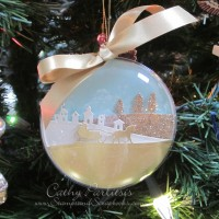 Snowy Scene Ornament and Gifts