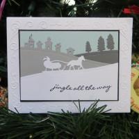 Winter Scene Holiday Card