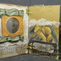 Mixed Media Project Day 5-Coptic Stitch Book